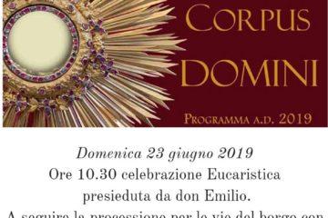 "festa ""Corpus Domini"" in parrocchia Piedimonte Matese"